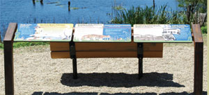 installed, wetlands of watsonville trails panels