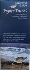 pajaro dunes trail guide brochure, front