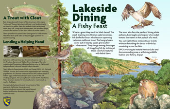 lakeside dining panel