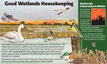 good wetlands housekeeping panel