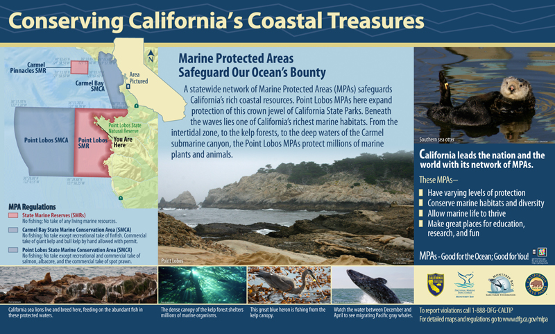Monterey Bay Sanctuary Foundation, Marine Protected Areas Panel 1
