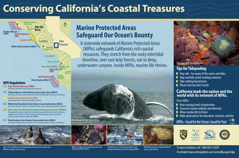 Monterey Bay Sanctuary Foundation, Marine Protected Areas Panel 3
