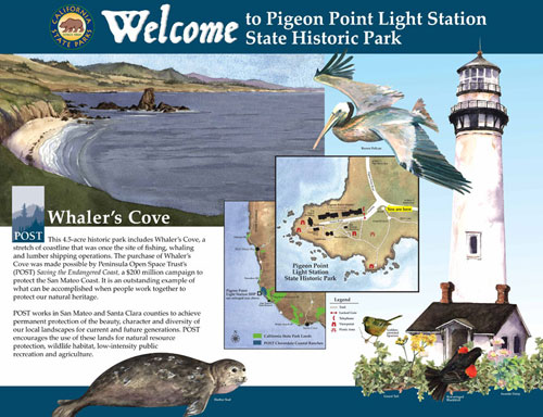 Pigeon Point Kiosk